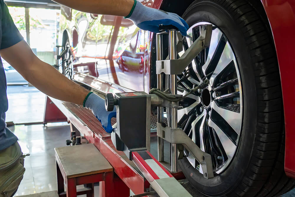 Things That Knock Your Vehicle Out of Alignment